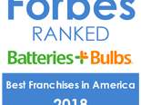 logo Forbes ranked Batteries + Bulbs