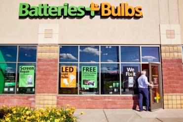 Batteries plus bulbs exterior