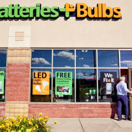 Batteries plus bulbs exterior