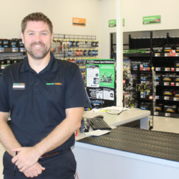 Batteries Plus franchise owner Eric Granroth