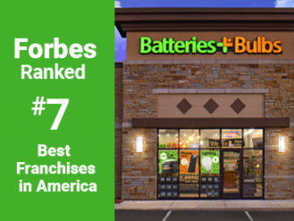 Forbes Ranked Batteries Plus Bulbs number 7