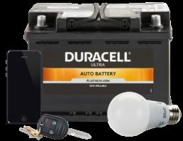 Batteries, Light Bulbs, Key Fobs and Phone Repair
