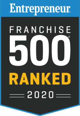 2020 Entrepreneur Ranked Top 500 Best Franchise