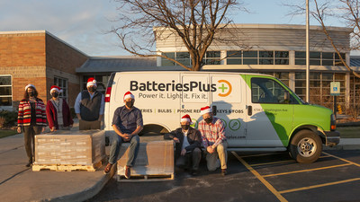 Batteries Plus & Toys for Tots Team Up to Power Gifts this Holiday Season